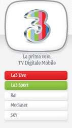 3tvmob La TV móvil ya es una realidad en Italia