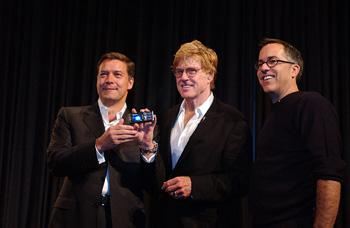 sundance Robert Redford y el Sundance Film Festival se pasan al móvil
